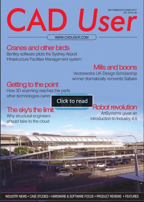 CADuser com - The CAD user magazine website for the uk